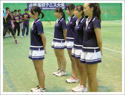 京都外大西高校硬式テニス部